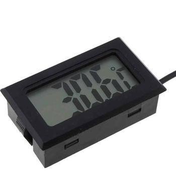 Mini Thermomètre Numérique Lcd Hygromètre Réfrigérateur Congélateur Testeur Température Humidité Compteur Détecteur Tpm 10 Buy Compteur De