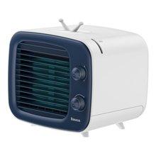 Baseus портативный кондиционер 3 скорости USB вентилятор мини-охладитель воздуха для дома и офиса увлажнитель очиститель Настольный вентилятор(China)