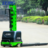 Convenient mini 500kg self loading electric pallet stacker price