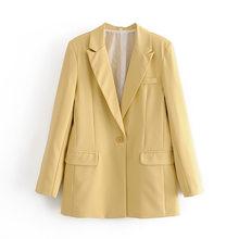 OL, 2020, Осенние рабочие брюки, костюм для женщин, на одной пуговице, Офисная Леди, пиджак + брюки на молнии, синий, розовый, комплект из 2 предмет...(Китай)