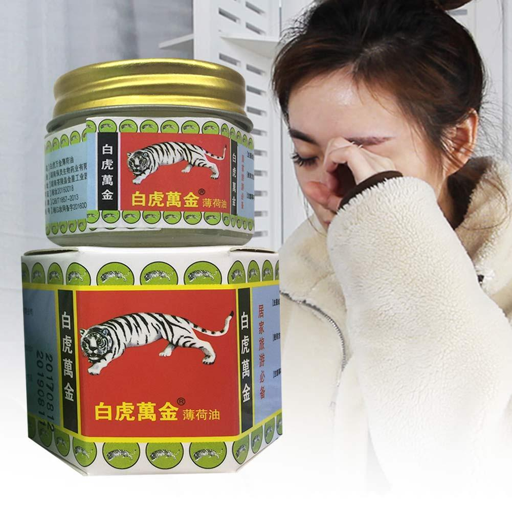 White Tiger Balm Pain Relief Muscle Ointment Stomachache Massage Rub Muscular Tiger Balm Dizziness Essential Balm Buy Tiger Balm Tiger Balm Red White Tiger Balm Product On Alibaba Com