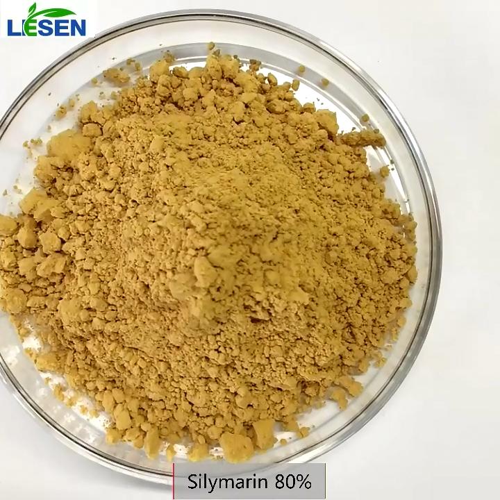 Lesen 99% Silybin, 80% Silymarin, süt devedikeni ekstresi