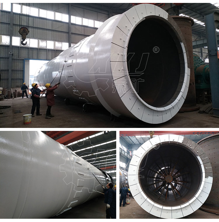 LECA light weight aggregate material production plant rotary kiln machine