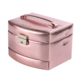 Custom logo decoration carrying bag ring collection mini jewelry storage box