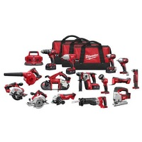 Offer For-Milwaukee Li-Ion Brushless Cordless Combo Kit 7 Tool Set W Batteries Charger 18V wholesales