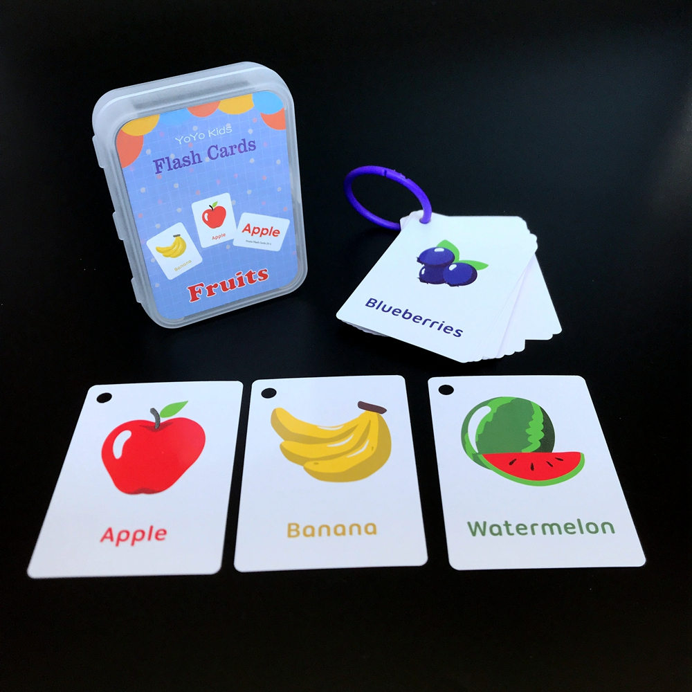 custom printed educational memory kids English math learning alphabet shape numbers animal colors flash cards baby cards