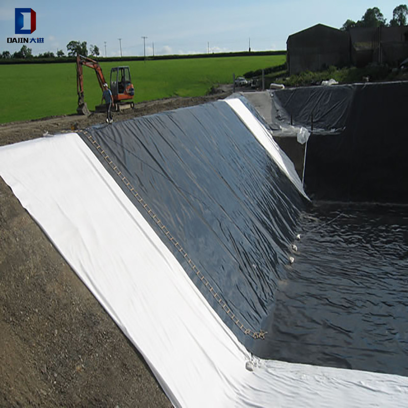 मछली तालाब biofloc टैंक पूल प्लास्टिक शीट geomembrane लाइनर