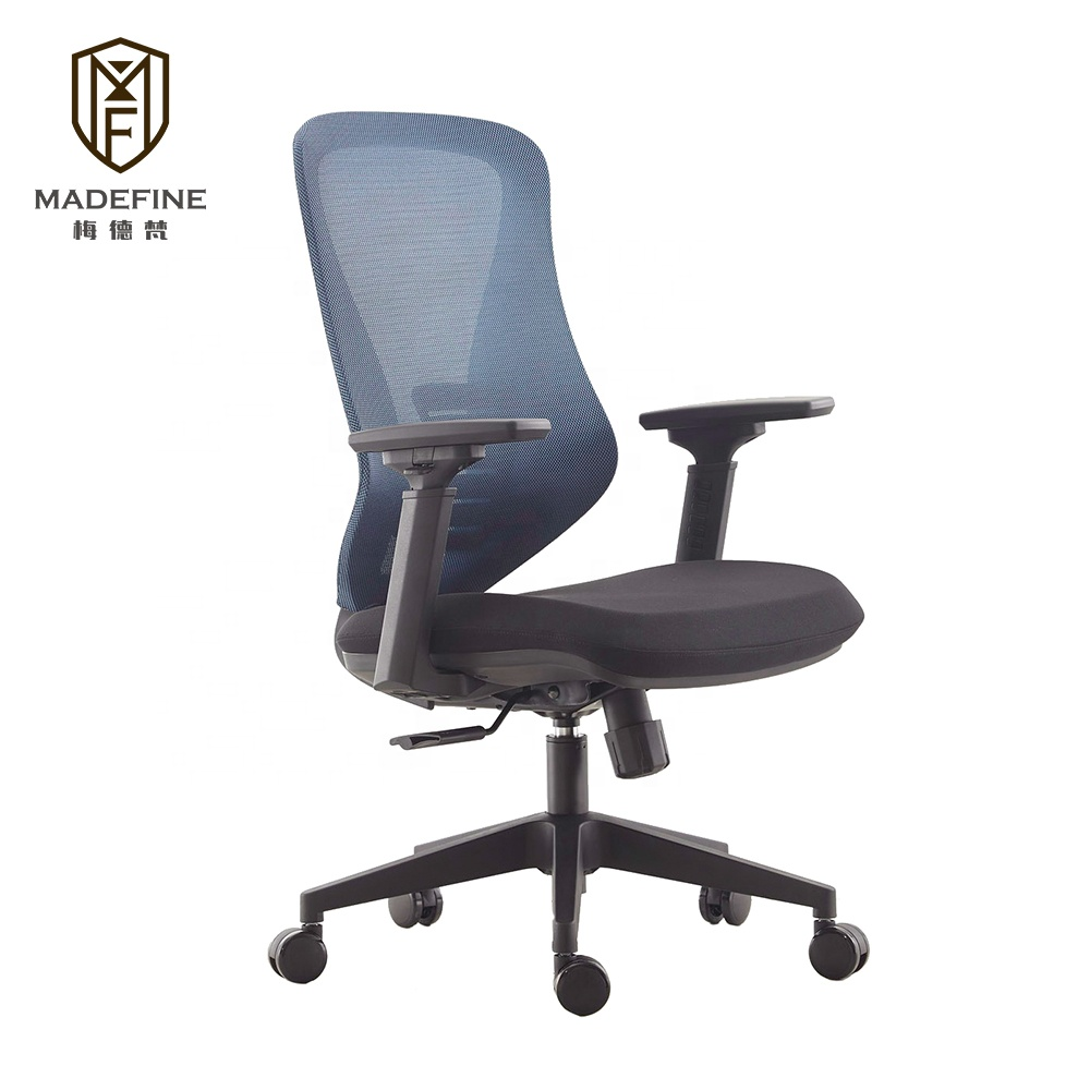 Foshan Home Office Furniture Desk and Mesh Fabric Screw Lift Staff Office Chair specifications