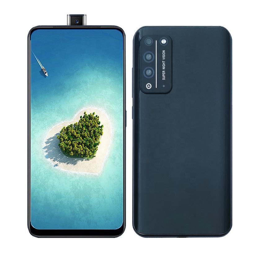 Hot Selling Telescopic Lift Camera Smart phone Android 3G Telefonos Celulares 6.35 inch full Screen
