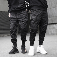 Wholesale Custom Stretch Gym Men Joggers streetwear Pants Slim Fit Sport Running Athletic Mens Sweat Pants 2019