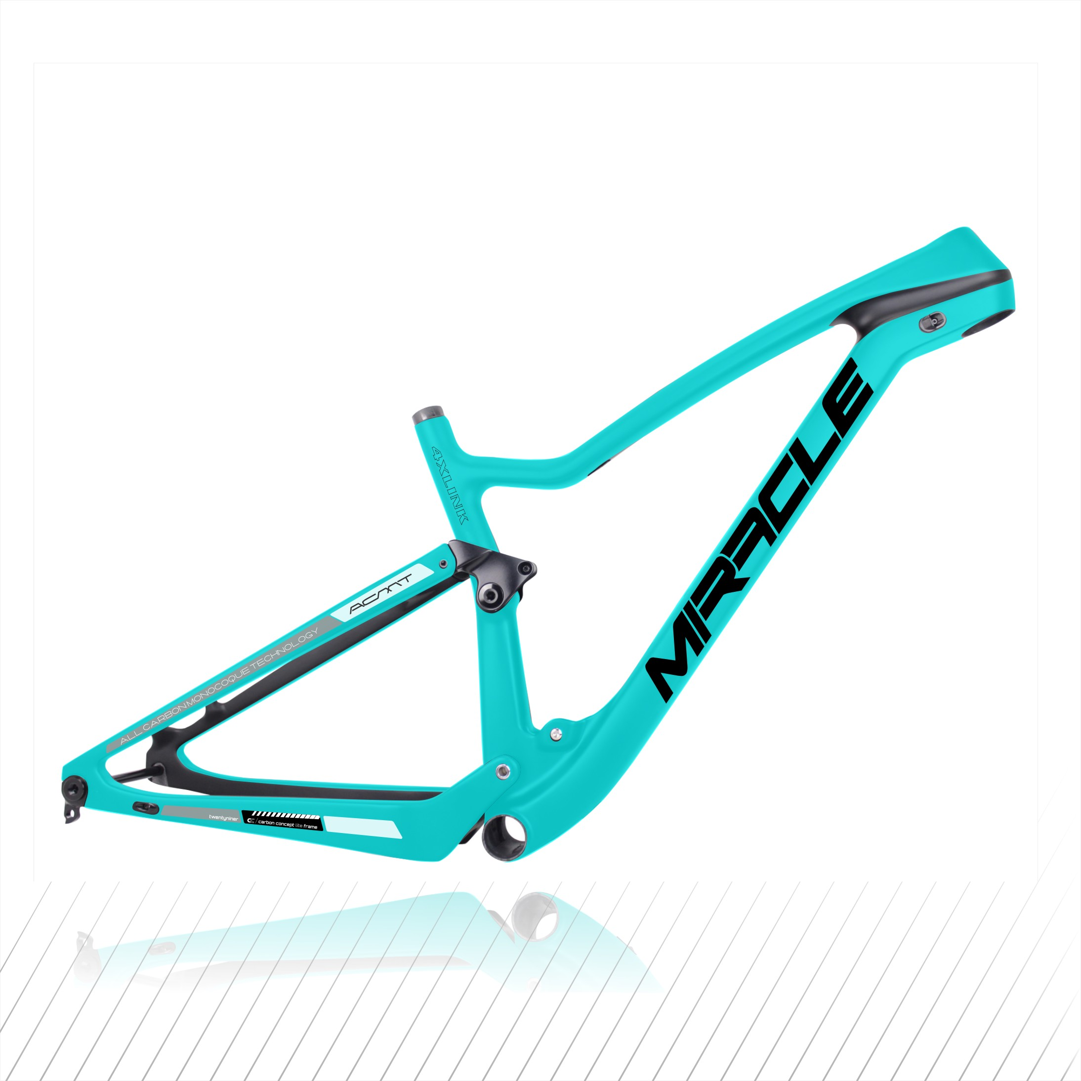 2020 New Cross Country bicicletas MTB XC 29er quadro de suspensão de carbono, 148*12MM impulso mountain bike de Carbono Quadro 29er