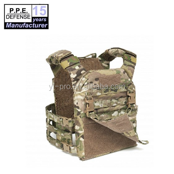 2019 hot sale Military use camouflage woodland protective combat tactical armor vest