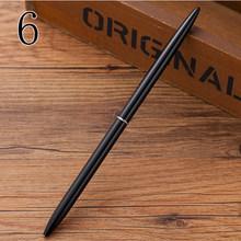 Роскошные креативные милые металлические шариковые ручки Kawaii, милые тонкие шариковые ручки, деловые ручки для письма, подарок, корейские Ка...(Китай)