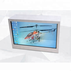 32 Inch Transparent LCD display elegant style Transparent LCD Screen Display Box for advertising, promotion.