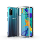 Cell Phone Case For Samsung S20 Case For Samsung Galaxy S20 Plus Note 20 Clear Case Transparent TPU Soft Shockproof Back Cover