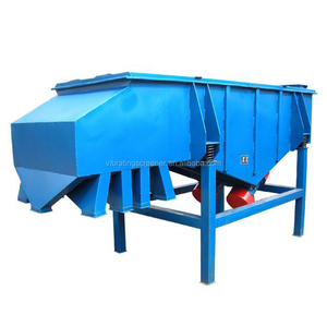 Steel wire mesh sand linear vibrating sieve screen