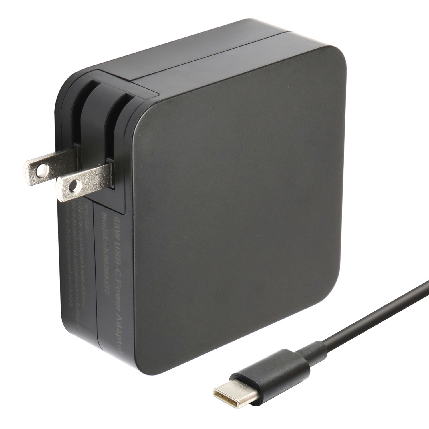 The new model is suitable for Asus AS power supply 65W-20V3.25A-TYPE-C square black computer power adapter