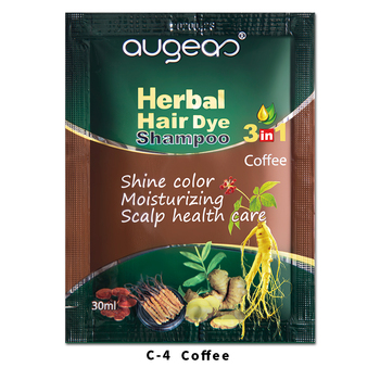 China factory manufacturer Meidu brand hair dye product in stock best quality semi permanent allergy free black hair dye shampoo