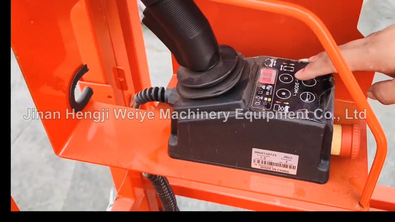 China Factory Hot Selling Zelfrijdende Lift Platform Automatische Mobiele Elektrische Schaarlift