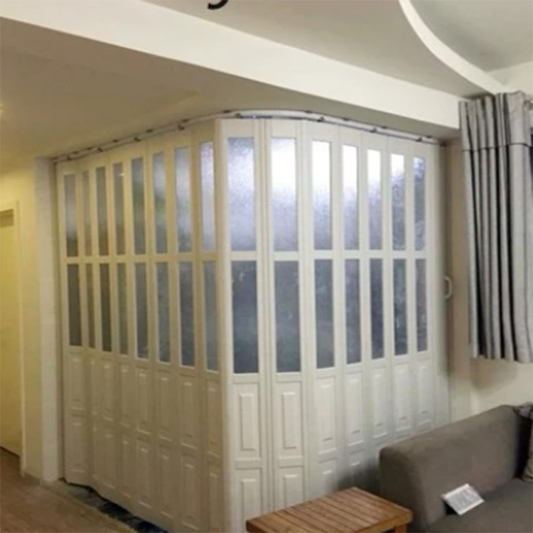 durable strong folding door transparent pull gate