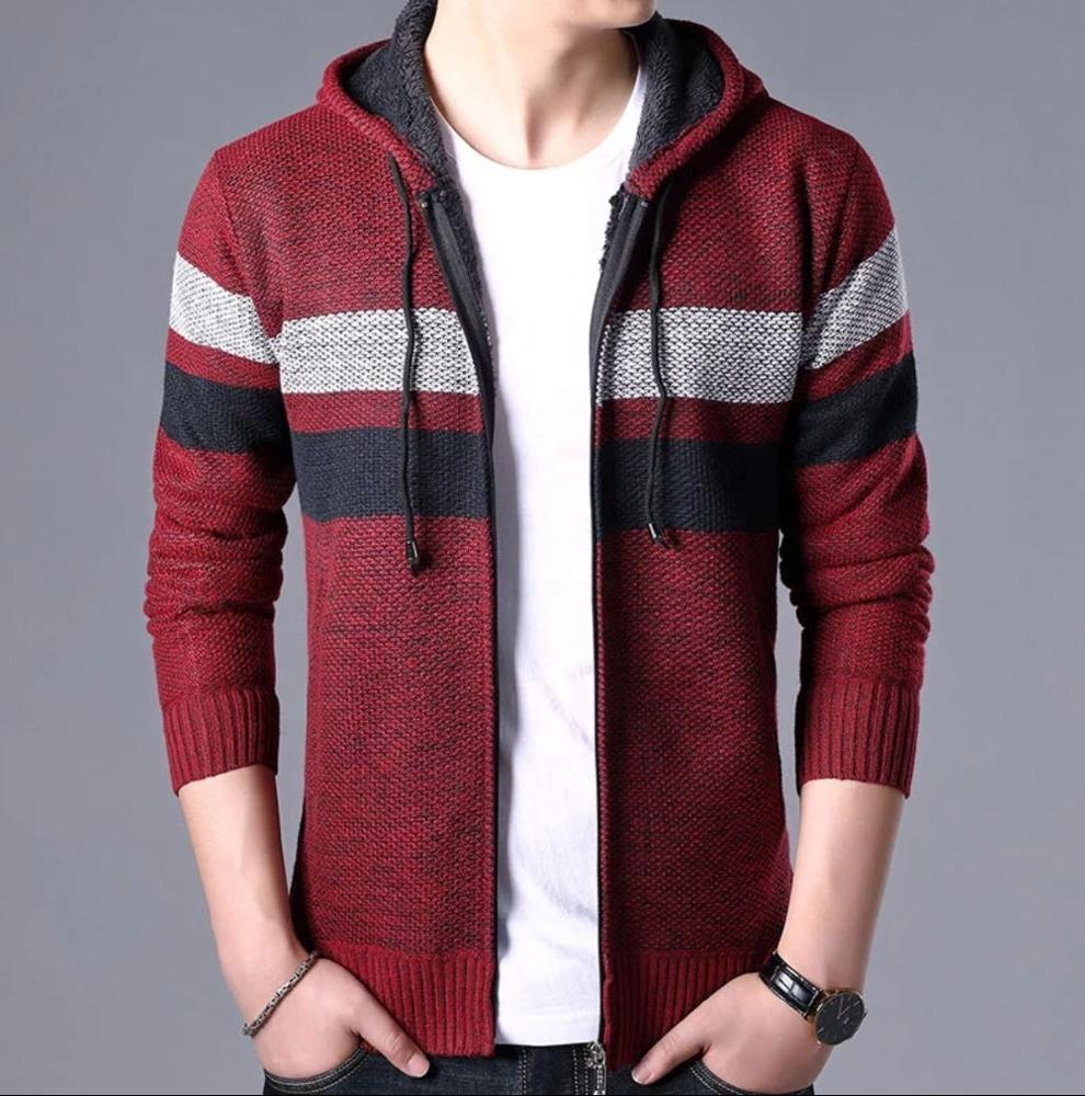 Custom newest style stand collar sweatshirt jacket tops casual outwear