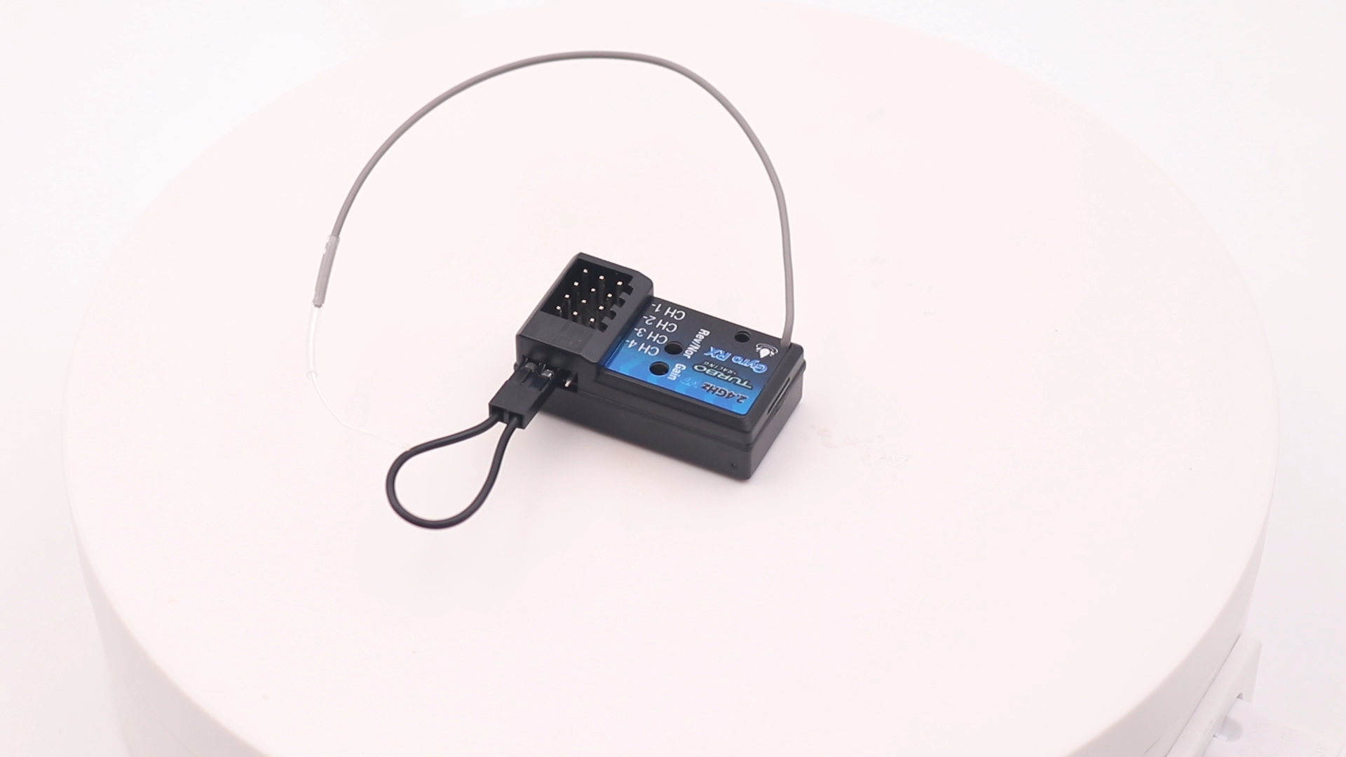 RX49 4CH Waterproof Receiver With Gyro for Turbo Racing RC Transmitter VT system