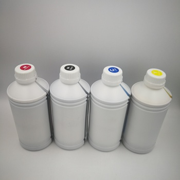 No Pre Coating White BK/C/M/Y Color DTG Pigment Ink for Epson R2000
