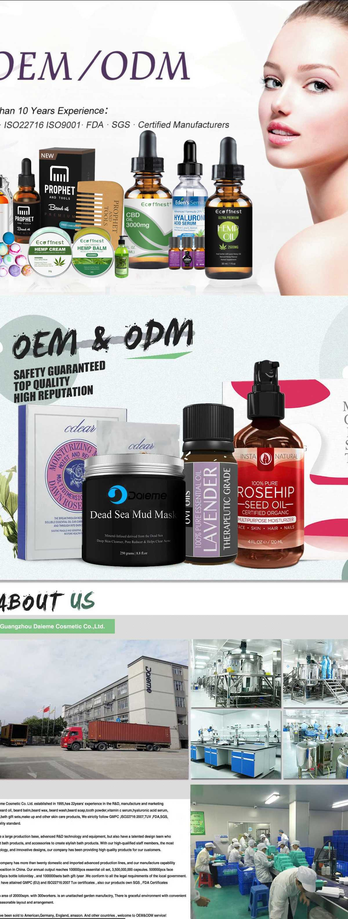 Guangzhou Daieme Cosmetic Co , Ltd  - Skin Care & Personal