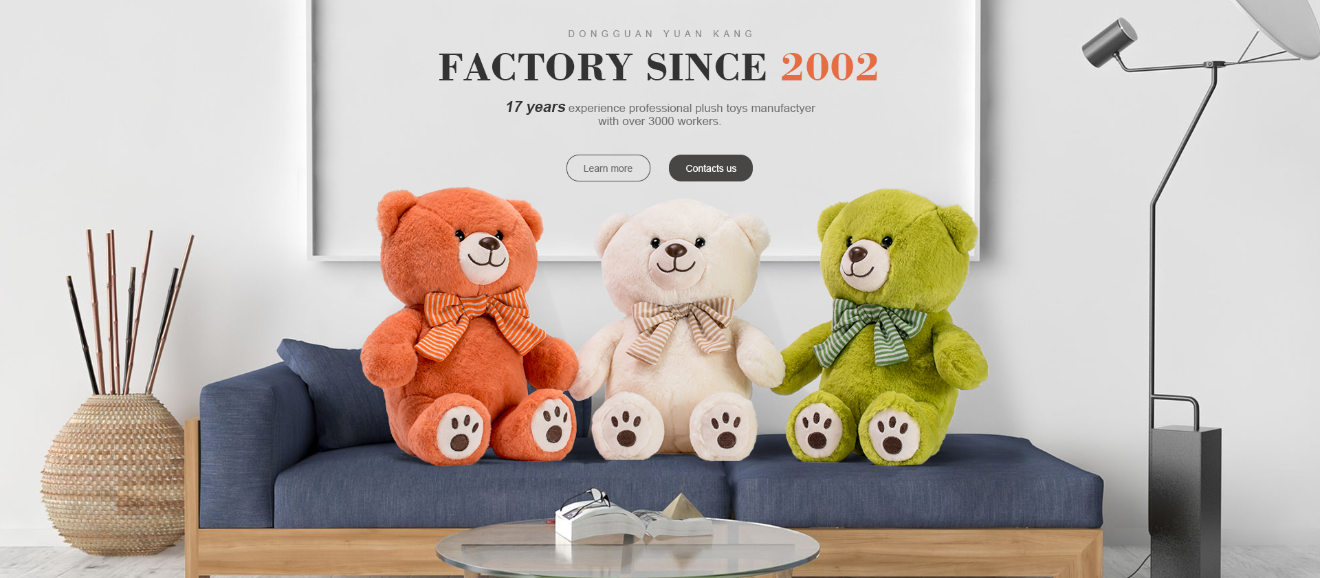 Dongguan Yuan Kang Plush Toys Co Ltd Plush Toy