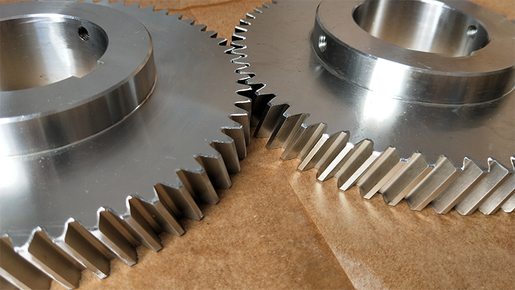 China precision metal steel drive gear and  spur helical pinion gears