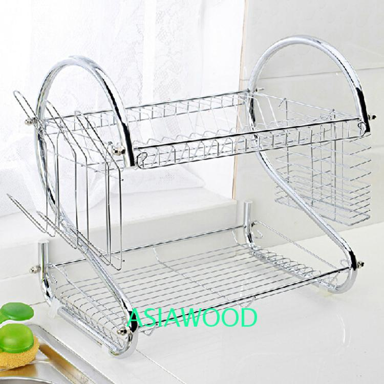 Double Cabinet Dish Rack Kitchen Drainer Wholesale