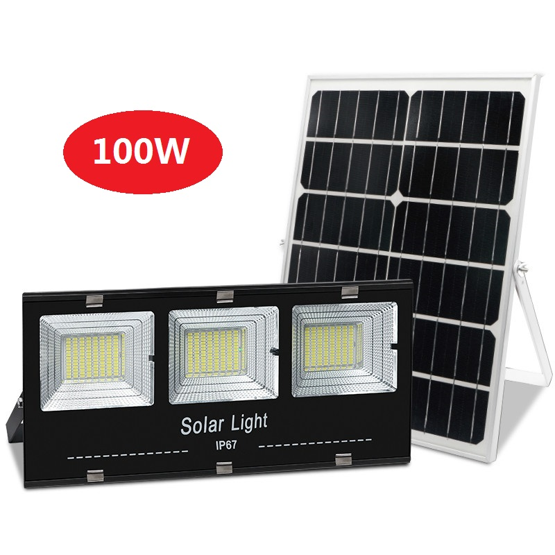 IP67 Solar floodlights solar powered outdoor lights big power solar street light