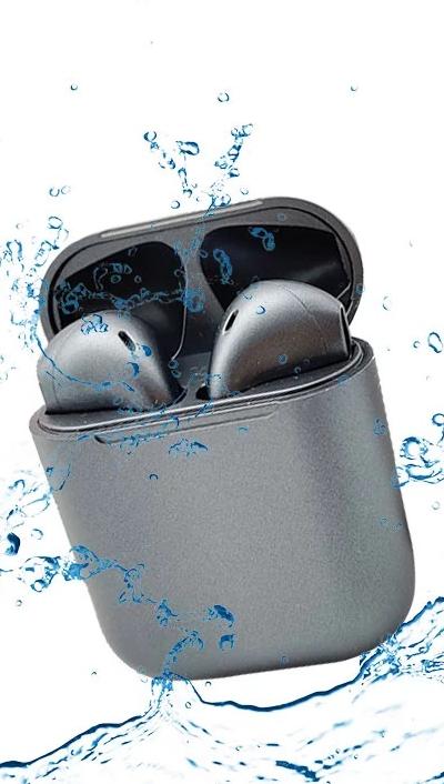 2020 mais novo Chip de JL TWS Metal Verdadeiro Macaron 12 Inpods Fones de Ouvido Sem Fio Fones De Ouvido Metálicos i12 Colorido in-ear fone de Ouvido