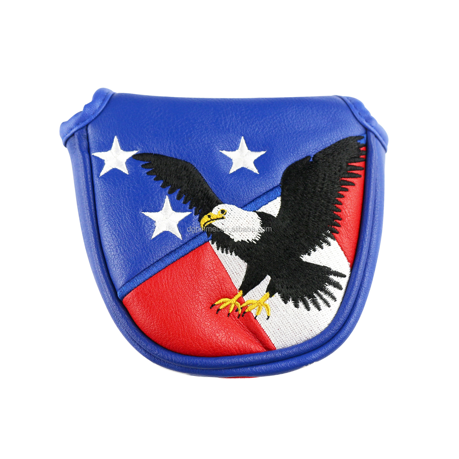 "Wholesale ""USA"" Eagle Embroidery Golf Club Head Cover for Putter"