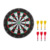 Double-Sided Dart Board for Kids w/ 6 Darts, Outdoor Darts Game and Party Games for Teenage Boys Toy Gift