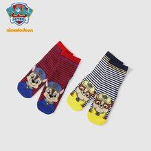 1 пара, Детские хлопковые носки с принтом «Щенячий патруль» на весну-осень для мальчиков и девочек, детские носки для детей 3-10 лет(Китай)