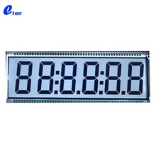 Factory prijs custom 6 digit <span class=keywords><strong>7</strong></span> <span class=keywords><strong>segment</strong></span> lcd display board voor brandstof dispenser machine