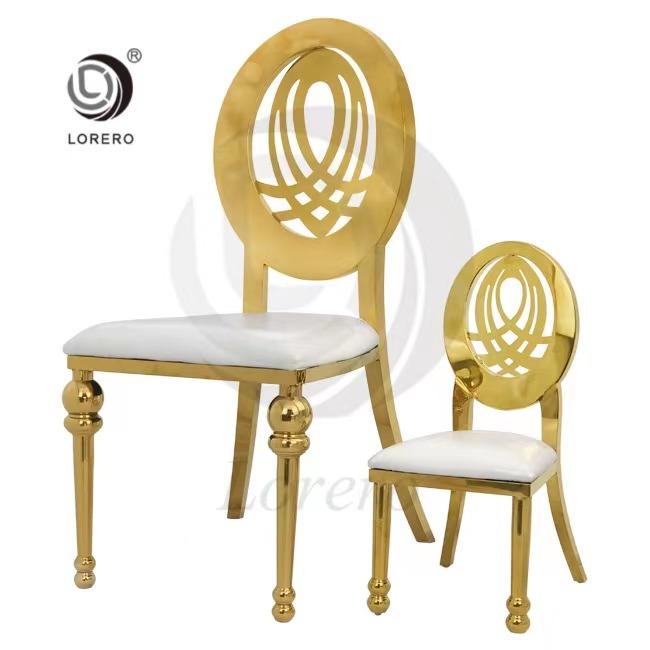 Wholesale Hotel Furniture children kid Stainless Steel Chair For Wedding
