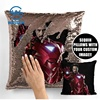 Case Decorative Throw Cover Pillowcase Custom Sequin Reversible 5Mm Pillow