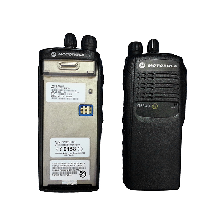 Atex Radio Explosion Proof Motorola Two Way Radio Motorola GP340 ex