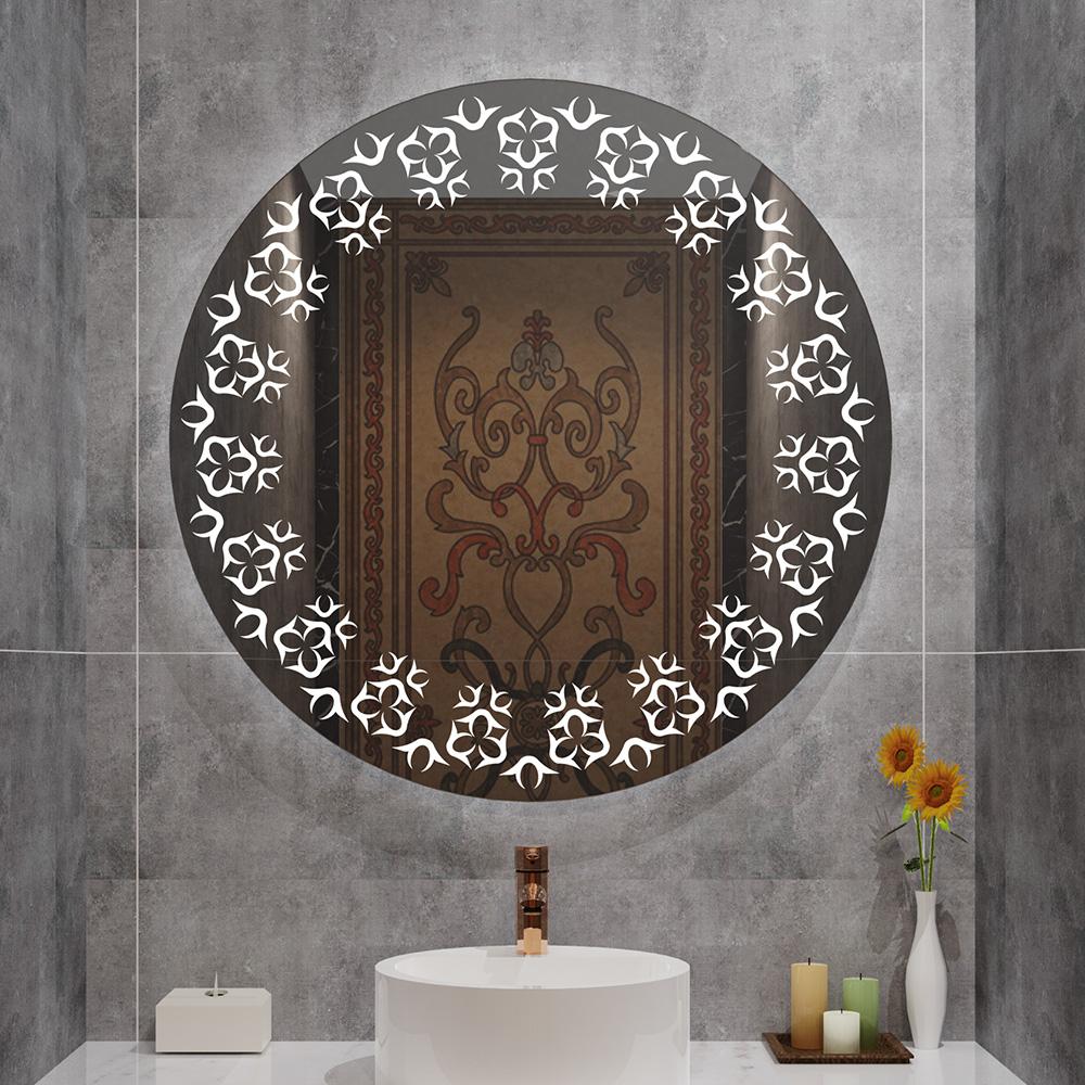 Dongguan furniture beauty Bathroom LED Vanity Mirror Anti-Fog Wall Mounted Makeup Mirror with Light (Horizontal/Vertiacl)