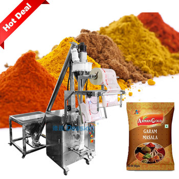 Low Cost 50g 100g 500g Vertical Chilli Powder Spice Powder Sachet Packing Machine Price