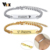 Adjustable Length Kids Babi ID Bracelets Anti Allergy Stainless Steel Girl Boy Children Anti Lost Jewelry Custom Name Phone