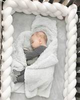 Snuggle Sleep Bed Pads Cotton crib bumper breathable baby bedding bumper for crib