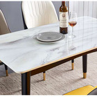Table Modern Marble Sintered Stone Dining Table