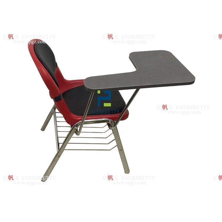 Дубай классический подушки обратно наклона функция arm школьные стулья с письменной доски для продажи