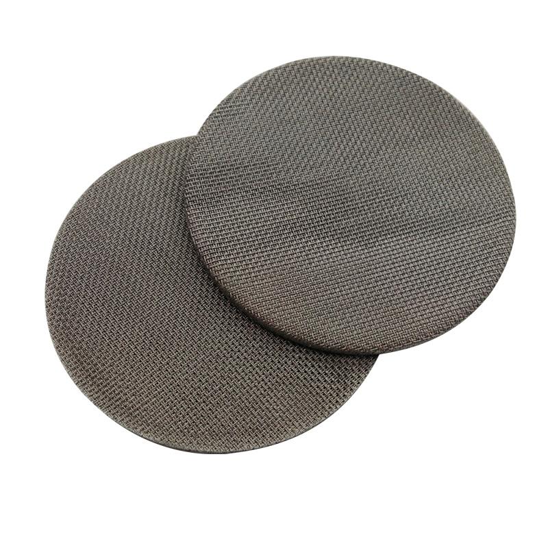 Ультра тонкий 1 микрон спеченный металлический фильтр/Спеченная проволочная сетка