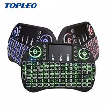 Multi-Language Sites colored light wifi wireless gaming keyboard and mouse combo