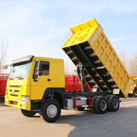 high quality used sinotruk Howo china 18 20 to 50 cubic meters dump dumper tipper truck for sale