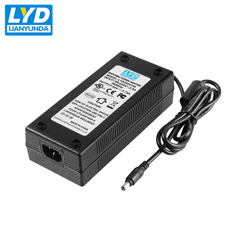 Universele ac dc laptop 3.75a 24 v 90 w adapter